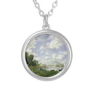 Colar Banhado A Prata A bacia em Argenteuil - Claude Monet