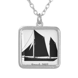 Colar Banhado A Prata a navigação 1893 smack - fernandes tony