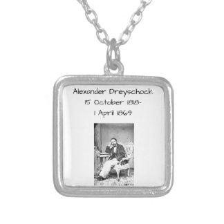 Colar Banhado A Prata Alexander Dreyschock