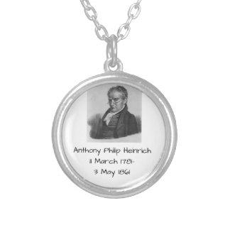 Colar Banhado A Prata Anthony Philip Heinrich