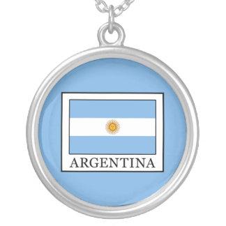 Colar Banhado A Prata Argentina