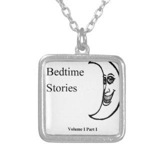 Colar Banhado A Prata As histórias de horas de dormir Amazon.com de