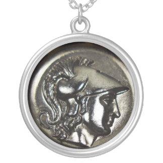 Colar Banhado A Prata Athena 1