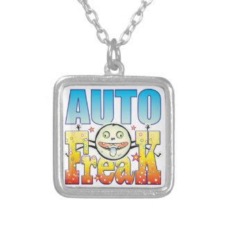 Colar Banhado A Prata Auto anormal Freaky