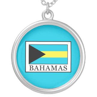 Colar Banhado A Prata Bahamas