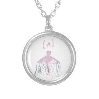 Colar Banhado A Prata Bailarina das medusa - Annette