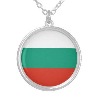 Colar Banhado A Prata Bandeira búlgara patriótica