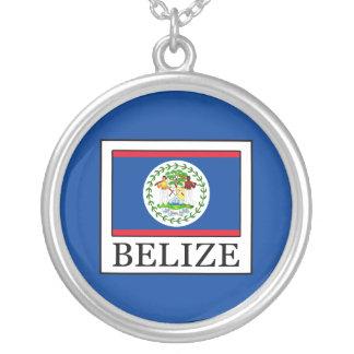 Colar Banhado A Prata Belize