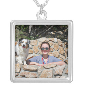 Colar Banhado A Prata Bennett - mini australiano - Rosie - praia de