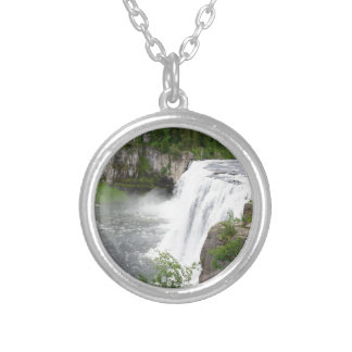 Colar Banhado A Prata Cachoeiras