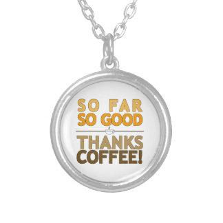 Colar Banhado A Prata Café dos obrigados