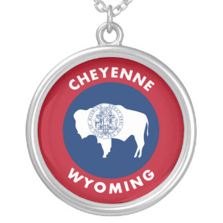 Colar Banhado A Prata Cheyenne Wyoming
