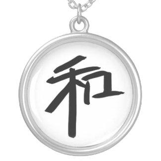 Colar Banhado A Prata Delicado ou tipo (chinês)