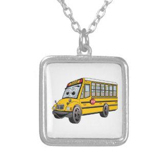 Colar Banhado A Prata Desenhos animados 2017 do auto escolar