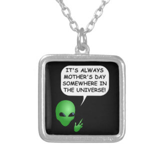 Colar Banhado A Prata Dia das mães estrangeiro