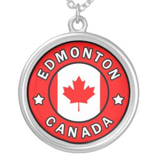 Colar Banhado A Prata Edmonton Canadá