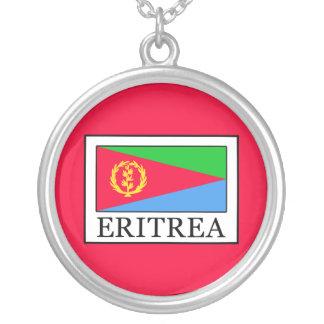 Colar Banhado A Prata Eritrea