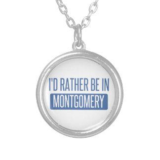 Colar Banhado A Prata Eu preferencialmente estaria em Montgomery
