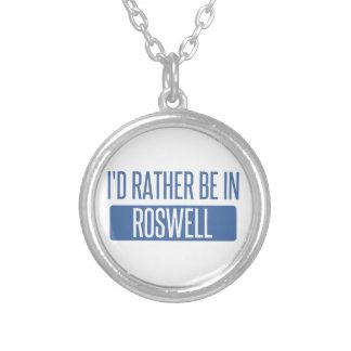 Colar Banhado A Prata Eu preferencialmente estaria em Roswell GA