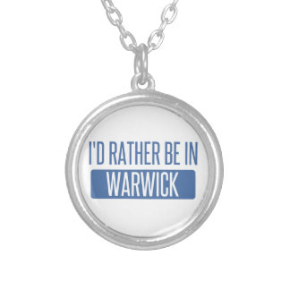 Colar Banhado A Prata Eu preferencialmente estaria em Warwick
