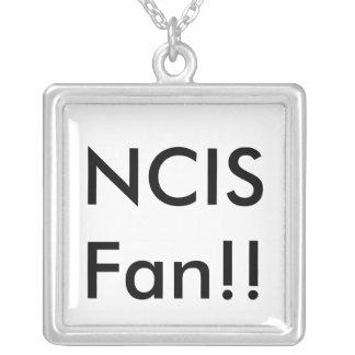 Colar Banhado A Prata Fã de NCIS!!