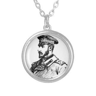 Colar Banhado A Prata Ferdinand mim de Bulgária