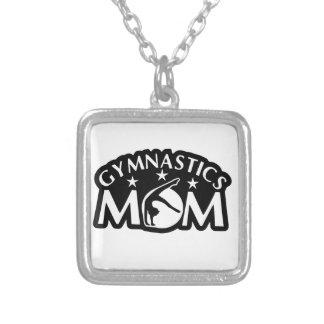 Colar Banhado A Prata Gymnastics_Mom