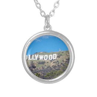 Colar Banhado A Prata Hollywood Hills