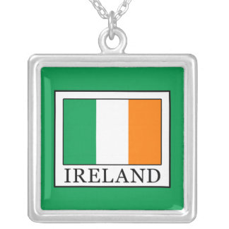 Colar Banhado A Prata Ireland