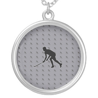 Colar Banhado A Prata Jogador de golfe