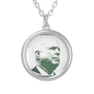 Colar Banhado A Prata John McCain