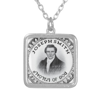 Colar Banhado A Prata Joseph Smith o profeta do deus