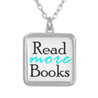 Colar Banhado A Prata Leia mais livros