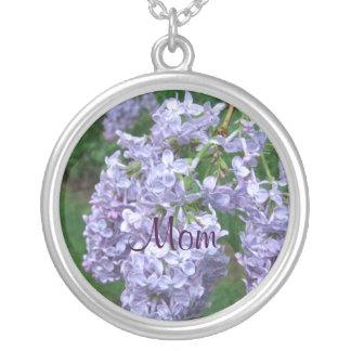 Colar Banhado A Prata Lilacs para o dia das mães