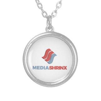 Colar Banhado A Prata Marca de MediaShrinx