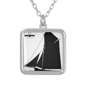 Colar Banhado A Prata Medway 1873 Peterboat - fernandes tony
