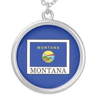 Colar Banhado A Prata Montana