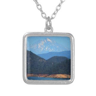 Colar Banhado A Prata Mt Shasta