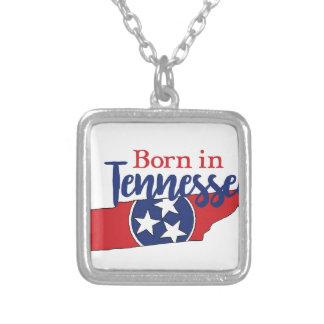 Colar Banhado A Prata Nascer em Tennessee