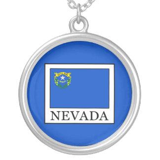 Colar Banhado A Prata Nevada