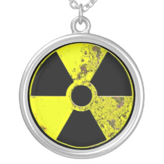 Colar Banhado A Prata Nuclear - psto