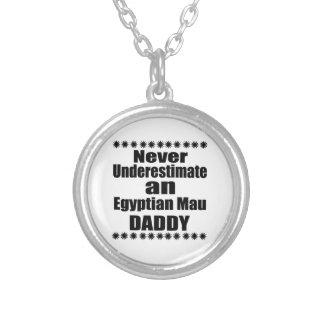 Colar Banhado A Prata Nunca subestime o pai de Mau do egípcio