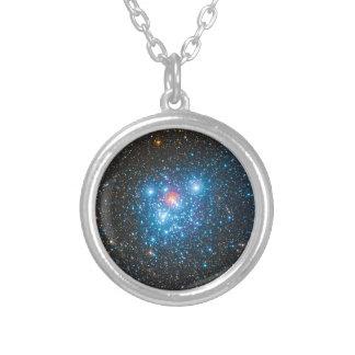 Colar Banhado A Prata O conjunto de estrela NGC de Crucis do Kappa da