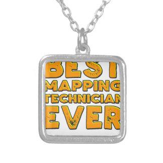Colar Banhado A Prata O melhor técnico de traço nunca