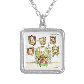 Colar Banhado A Prata O trunfo é Putin nos presentes de Ritz