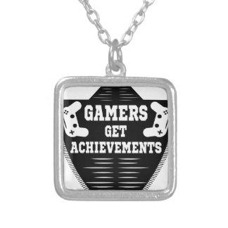 Colar Banhado A Prata Os jogadores obtêm pintinhos que os gamers obtêm