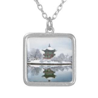 Colar Banhado A Prata palácio do asiático do gyeongbok