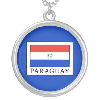 Colar Banhado A Prata Paraguai