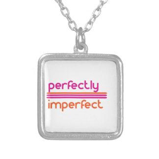 Colar Banhado A Prata Perfeitamente imperfeito
