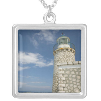 Colar Banhado A Prata PISCINA, ilhas Ionian, ZAKYNTHOS, CABO SKINARI: